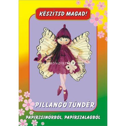 Papírszalag figura Pillangótündér