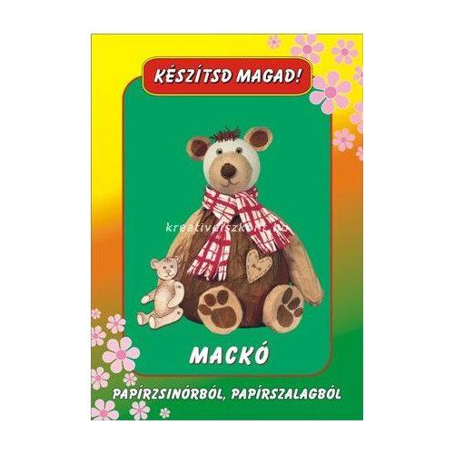 Papírszalag figura Mackó