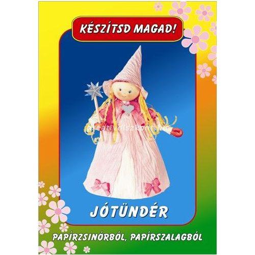 Papírszalag figura Jótündér
