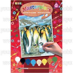 Mammut Junior Festés számok után, Pingvinek 22x30 cm
