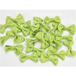 Masni pöttyös zöld 3 cm 5db/cs