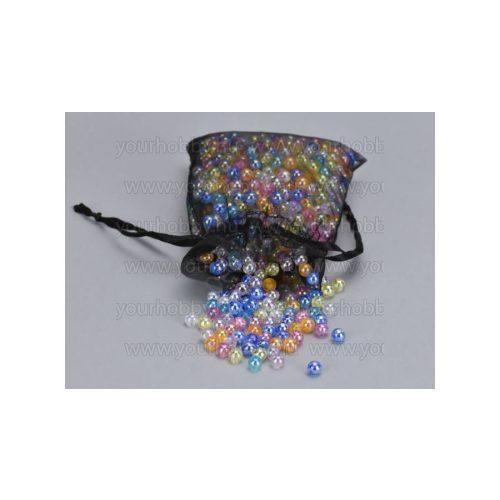 Gyöngyház gyöngy 6mm 85g - vegyes szín