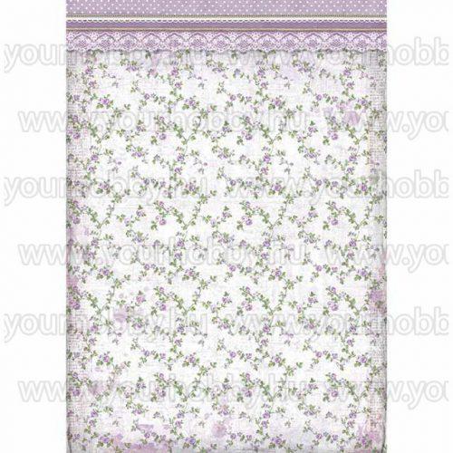 Stamperia Dekupázs rízspapír A3, Provence virágok DFSA3026