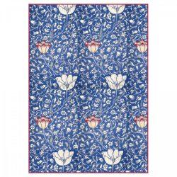 Stamperia Dekupázs rizspapír A4 Kék arabeszk virágokkal DFSA4300