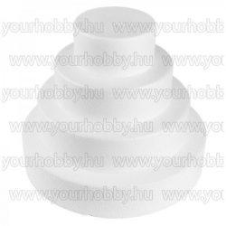 Polisztirol tortaforma 4 részes