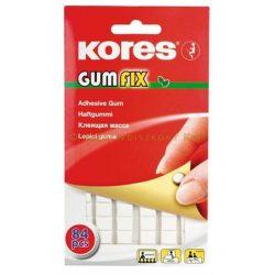 """Gyurmaragasztó 84 kocka/csomag KORES """"Gumfix"""""""