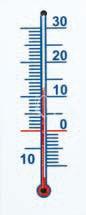. Hőmérő, műanyag