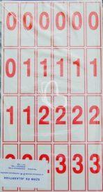 . Szám és jelkártya II-IV. o.