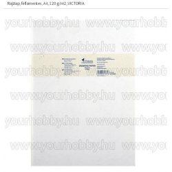 Rajzlap, félfamentes, A4, 120 g/m2, VICTORIA
