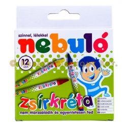 Zsírkréta 12 darabos NEBULÓ