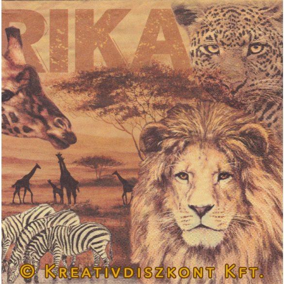 Szalvéta, Állatok , Afrikai állatok
