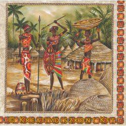Szalvéta, Afrika , Bennszülöttek