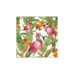 Szalvéták Flamingók