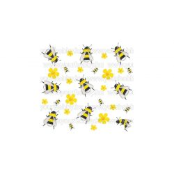 Szalvéták Táncoló méhecskék