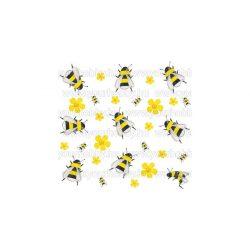 Szalvéták, Állatok, Táncoló méhecskék