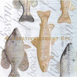 Szalvéta Tengeri halak