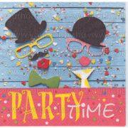 """Szalvéta """"Party Time"""""""