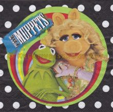 Szalvéta, Disney , The Muppets