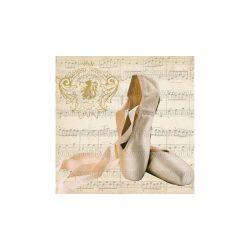 Szalvéták, Egyéb, Balettcipő hangjegyekkel