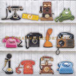 Szalvéta , Egyéb , Régies telefonok