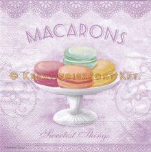 Szalvéta , Ételek , Macarons