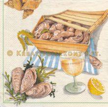 Szalvéta , Ételek , Tenger gyümölcsei