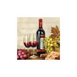 Szalvéták, Italok, Bor és szőlők