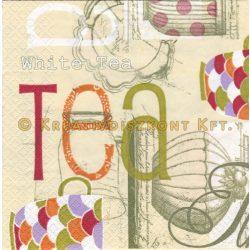 """Szalvéták , Italok , """"Tea Time"""""""