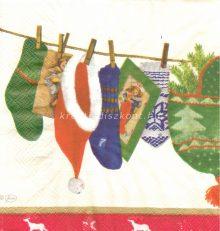 Szalvéta , Karácsonyi , Télapó