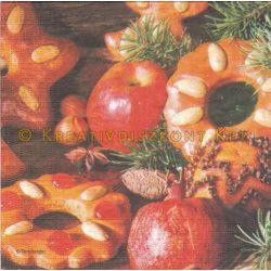 Szalvéta , Karácsonyi , Karácsonyi sütemények