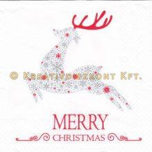 """Szalvéta , Karácsonyi , """"Boldog Karácsonyt"""""""