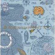 Szalvéták Régi tengerész térkép