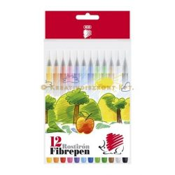 """Filctoll készlet 1 mm ICO """"Süni 300"""" 12 különböző szín"""