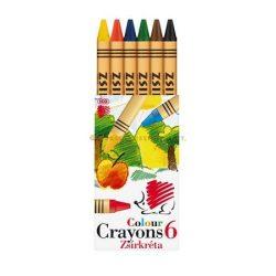 """Zsírkréta ICO """"Süni"""" 6 különböző szín"""
