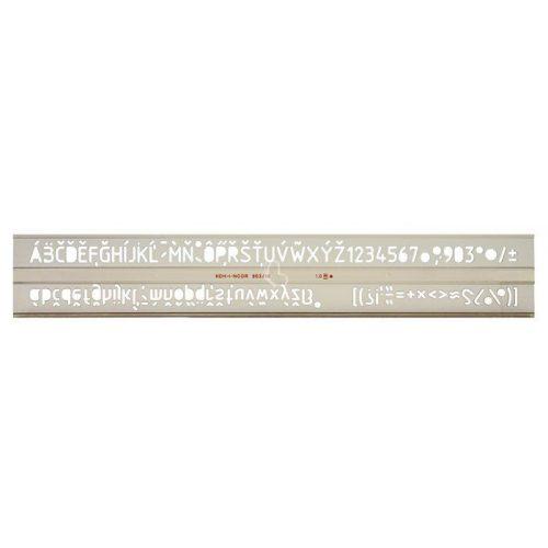 KOH-I-NOOR Betűsablon 10 mm/betű