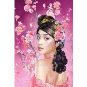 Gyémántszemes kirakó, Kínai szépség 40x50 cm