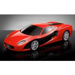Gyémántszemes kirakó, Piros Ferrari 60x40 cm