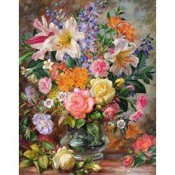 Festés számok után Virágkompozíció Y5067 40x50 cm