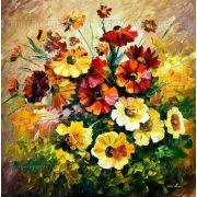 Festés számok után Virágcsokor 40x50 cm Y6282
