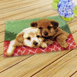 SUBA Kilépő Aranyos kutyusok 50x30 cm