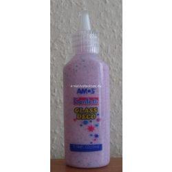 Üvegmatrica festék, 22 ml, Confetti lila