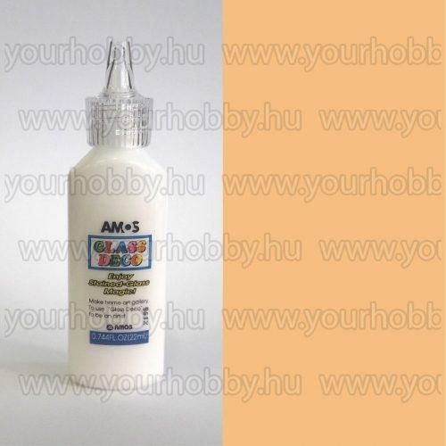 Amos Üvegmatrica festék 22 ml - Testszín