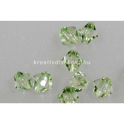 Akril gyöngy - zöld