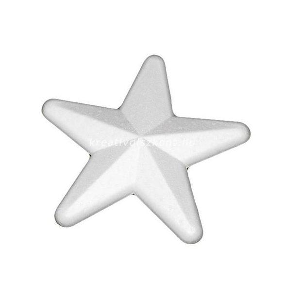 Polisztirol csillag, 10 cm