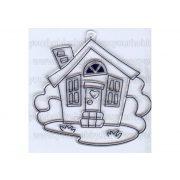 Kifesthető sablon S-1 Házikó (S6)
