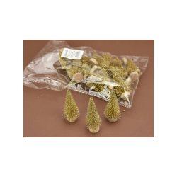 Mini fenyő arany kb..6cm