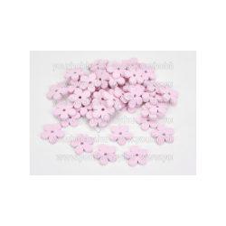 Fa virág pink 2,5 cm 10db/csomag