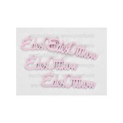 """Fa """"Édes Otthon"""" felirat pink 15 cm"""