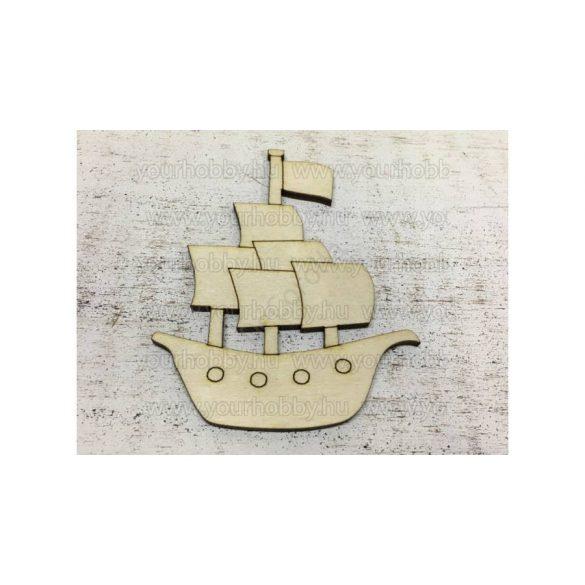 Fa hajó 9,5 cm