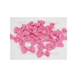 Masni pöttyös rózsaszín 3 cm 5db/csomag